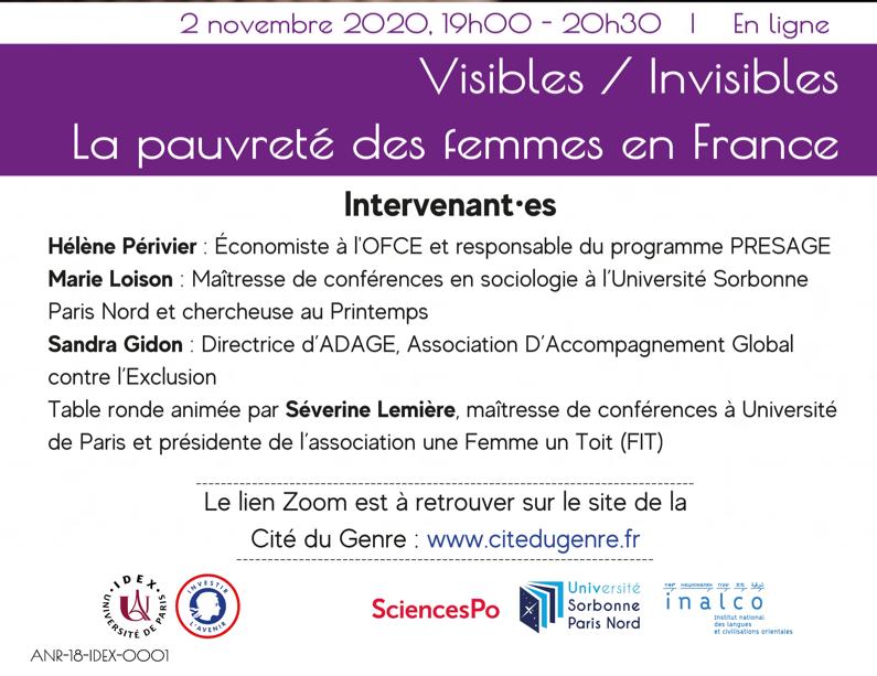 Visible / Invisible : la pauvreté des femmes en France