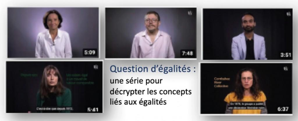 »De quoi parle-t-on ?» une série de capsules vidéos pour éclairer certains concepts liés aux égalités